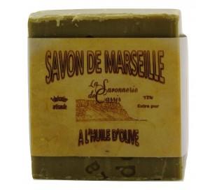 Cube de savon de Marseille 100% olive