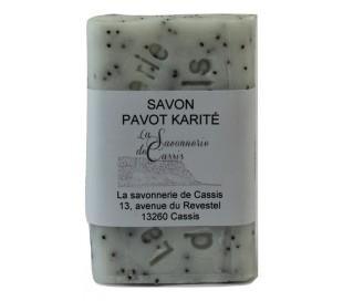 Savon exfoliant aux graines de Pavot 125gr
