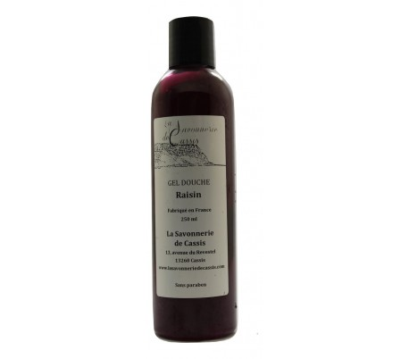 Gel douche Raisin 250ml